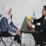 Ilustrasi proses interview wawanacara kerja