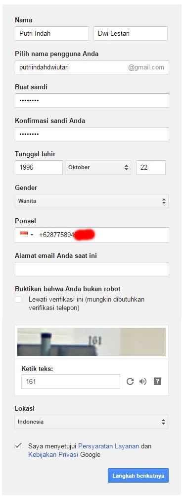 Gambar 2 Email Gmail - Sipendik