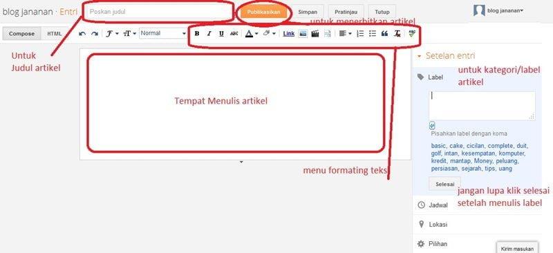 gambar 6 -  cara membuat blog di blogger