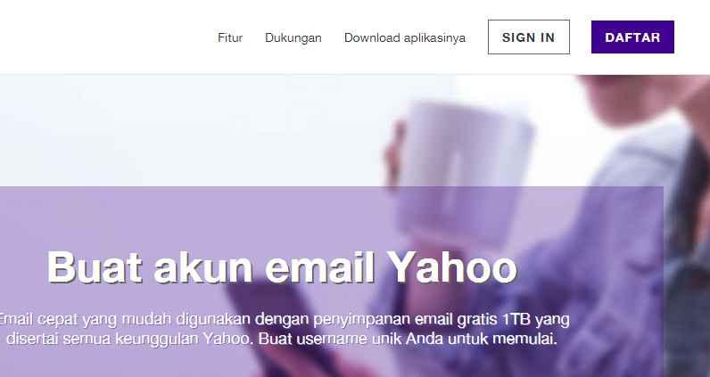 Gambar 4 Email Yahoo - Sipendik